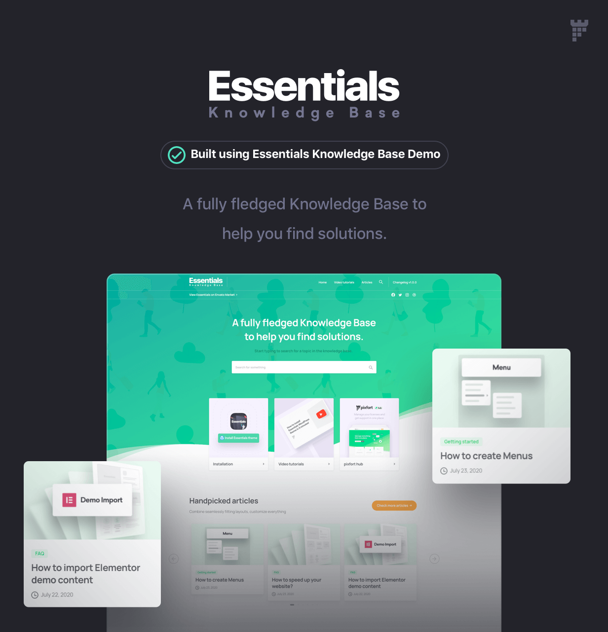 Essentials | Multipurpose WordPress Theme - 89